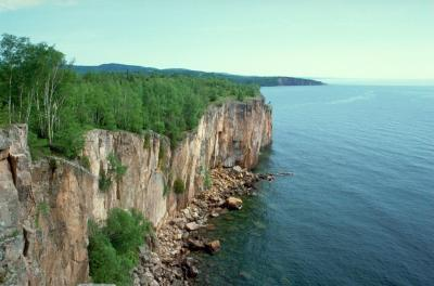 Lake Superior, the location of the 9th International Charr Symposium