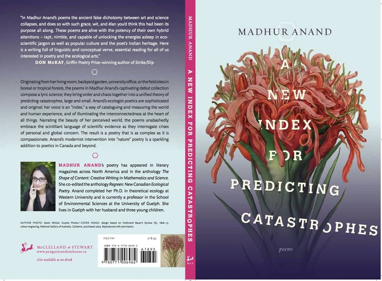 Madhur's first poetry book was a finalist for the Trillium Book Award for Poetry
