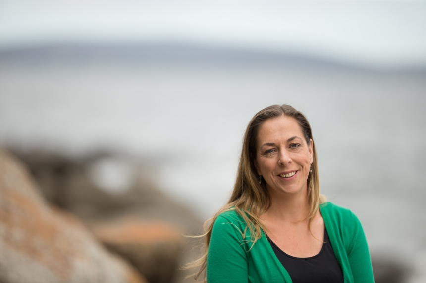 Gretta Pecl, founder of the Redmap project, which aims to demonstrate tangible effects of climate change to Australia's fishing community