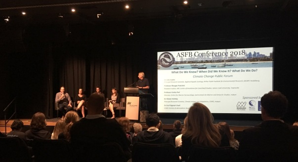 The Australian Society of Fish Biology brought together the individuals who are driving forward fish science in Australia