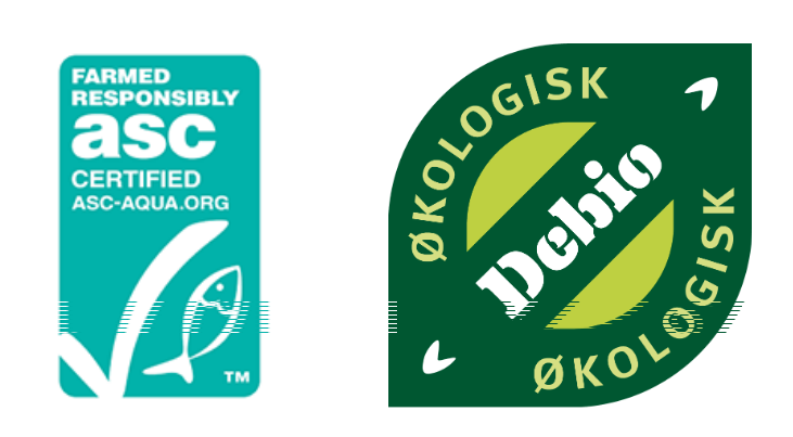 Debio and ASC, the two ecolabels assessed by NARC